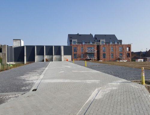 Étude technique des voiries d'un projet urbanistique à Remicourt